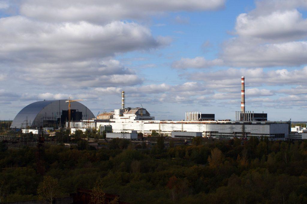 Arka i elektrownia jądrowa w Czarnobylu / Fot. Tomasz Róg