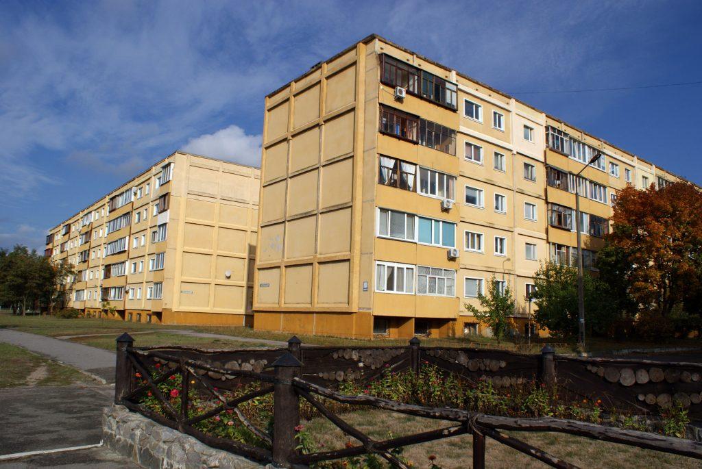 Sławutycz - bloki w kwartale tallińskim / Fot. Tomasz Róg