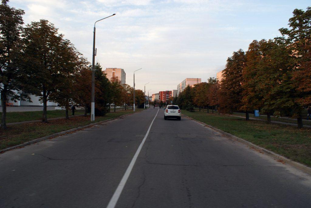 Sławutycz - prospekt Drużby Narodów / Fot. Tomasz Róg