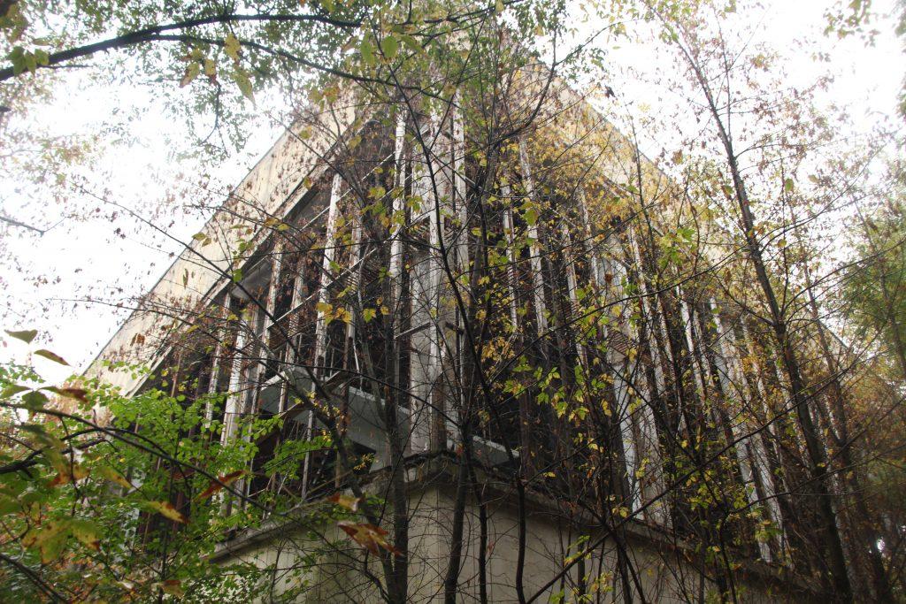 Budynek basenu Lazurowego / Fot. Małgorzata Świeżowska