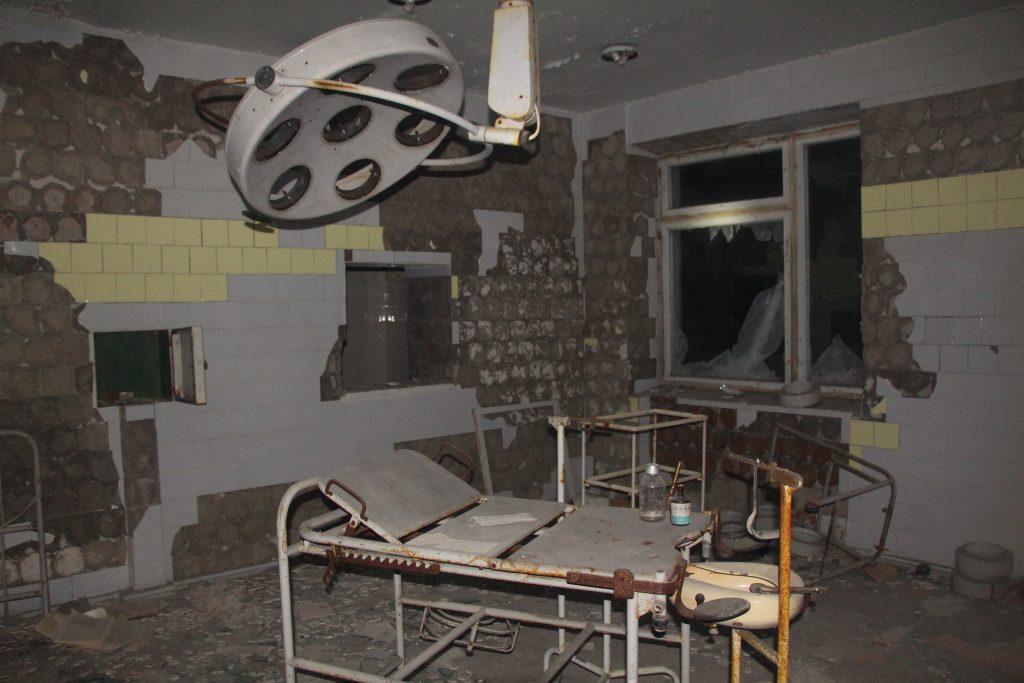 Szpital w Prypeci / Fot. Małgorzata Świeżowska