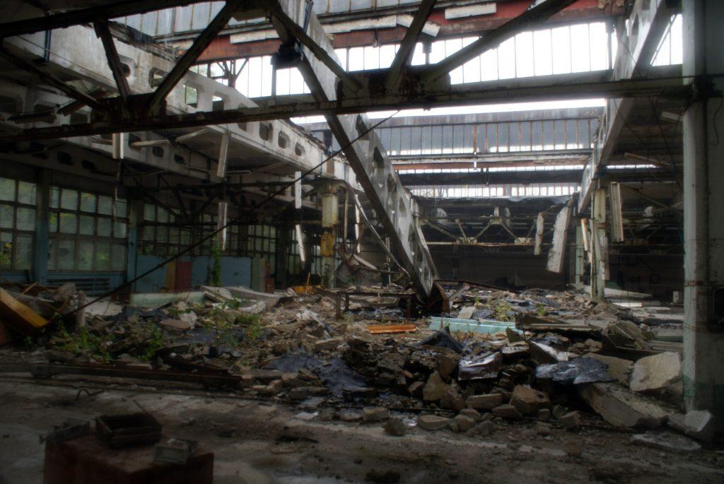 O krok od katastrofy w jednej z hal produkcyjnych / Fot. Tomasz Róg