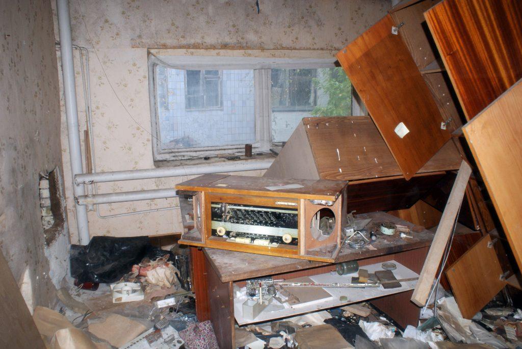 Jedyne radio, na które natknąłem się w zakładach Jupiter / Fot. Tomasz Róg