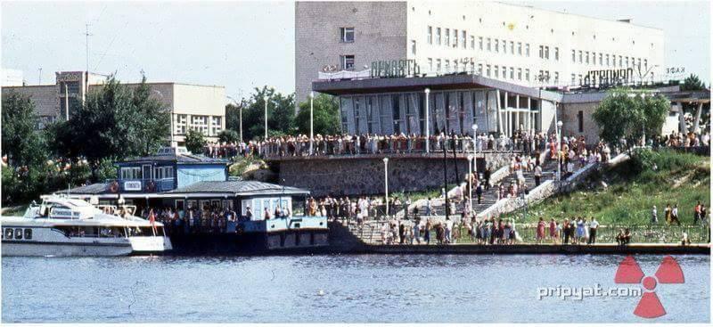 Port rzeczny w Prypeci. Fot. pripyat.com