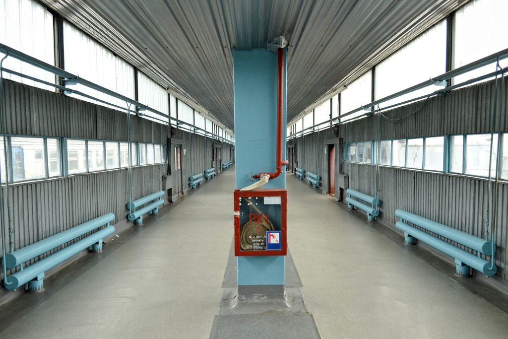 Stacja kolejowa Siemichody. Fot. Andrzej Bryśkiewicz