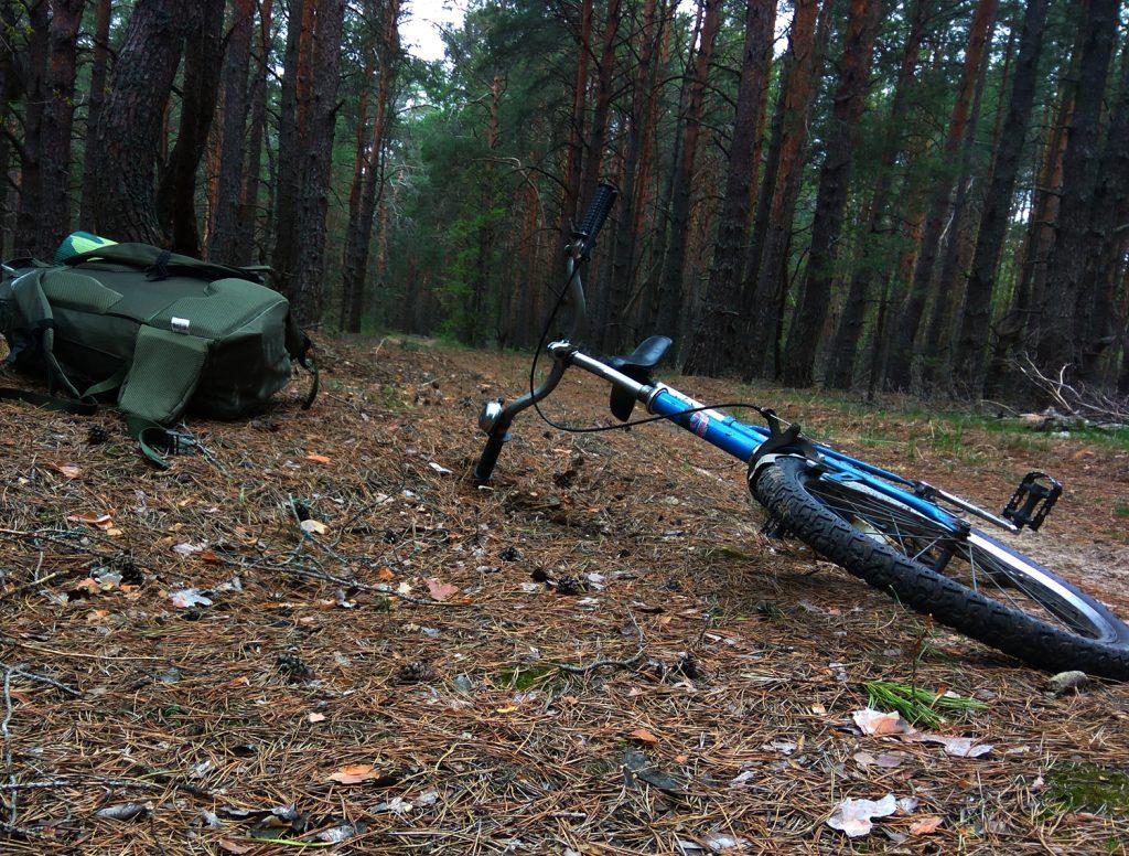 Rowerem przez Zonę. Wyprawa - maj 2017 r. Fot. Staszek (stalker)