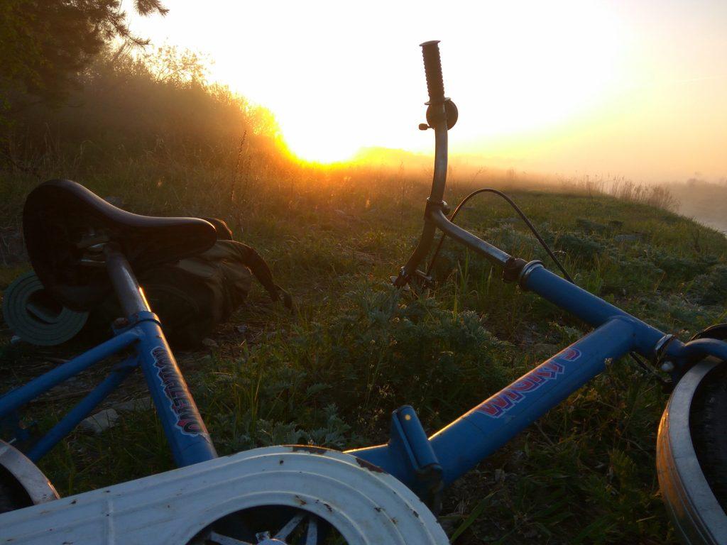 Wigry-3 w promieniach słońca. Wyprawa - maj 2017 r. Fot. Staszek (stalker)