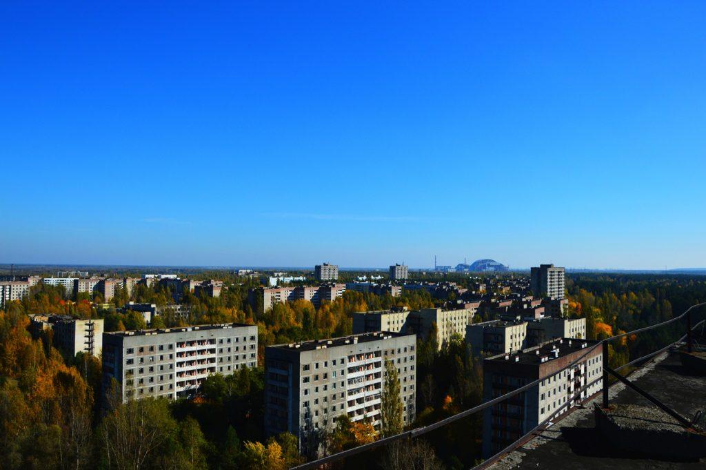 Jesienna Prypeć. Wyprawa - październik 2014 r. Fot. Staszek (stalker)