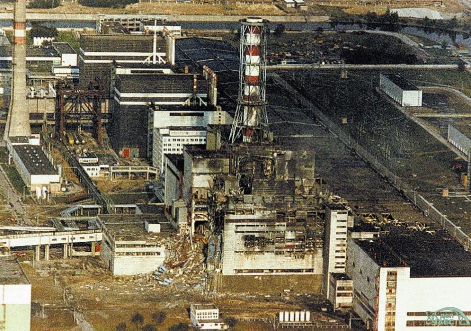 Zniszczony blok reaktora numer 4 elektrowni w Czarnobylu / Fot. chnpp.gov.ua