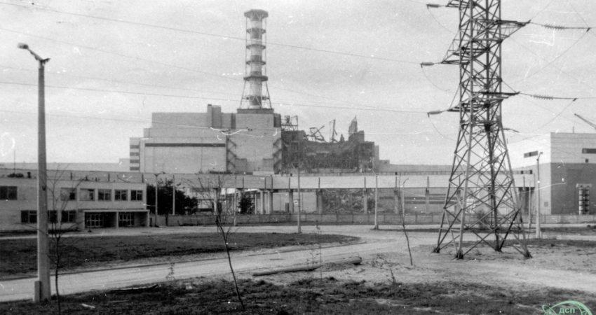 Elektrownia jądrowa w Czarnobylu. Zdjęcie z 27 kwietnia 1986 r. / Fot. chnpp.gov.ua