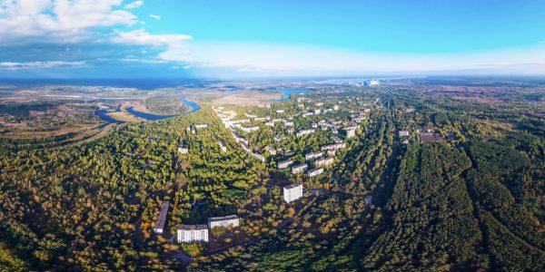 Fragment panoramy / Fot. Anton Yuhimenko, chnpp.gov.ua