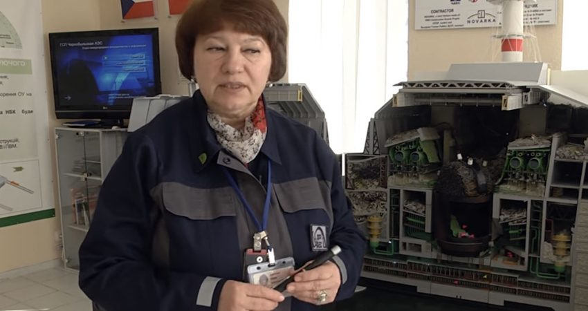Julia Marusicz / Fot. Chernobyl NPP, YouTube