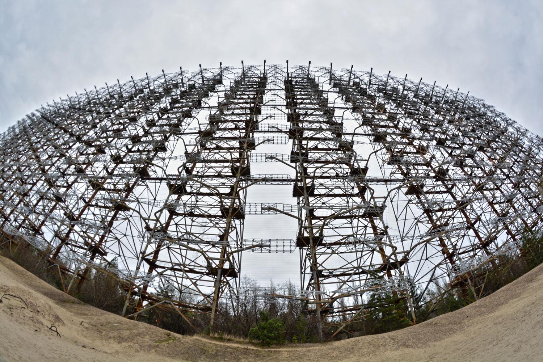 Radar Duga. Fot. Karolina Prusińska