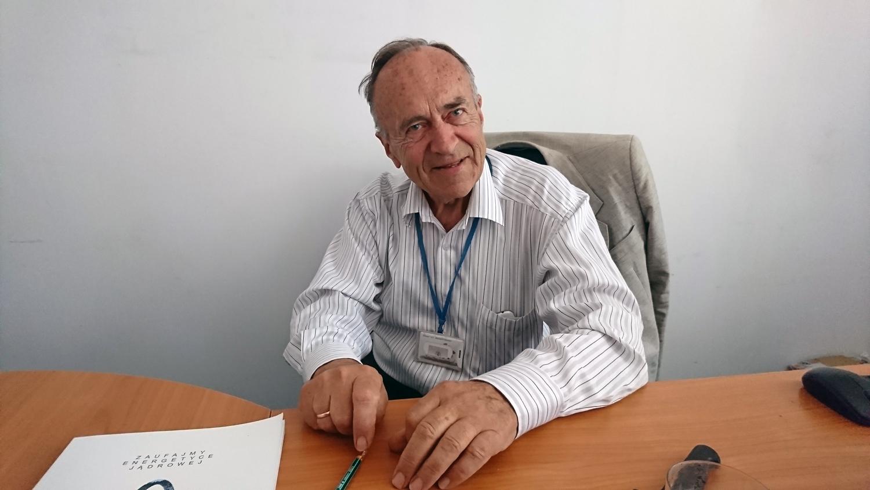 Prof. Andrzej Strupczewski. Fot. Tomasz Róg
