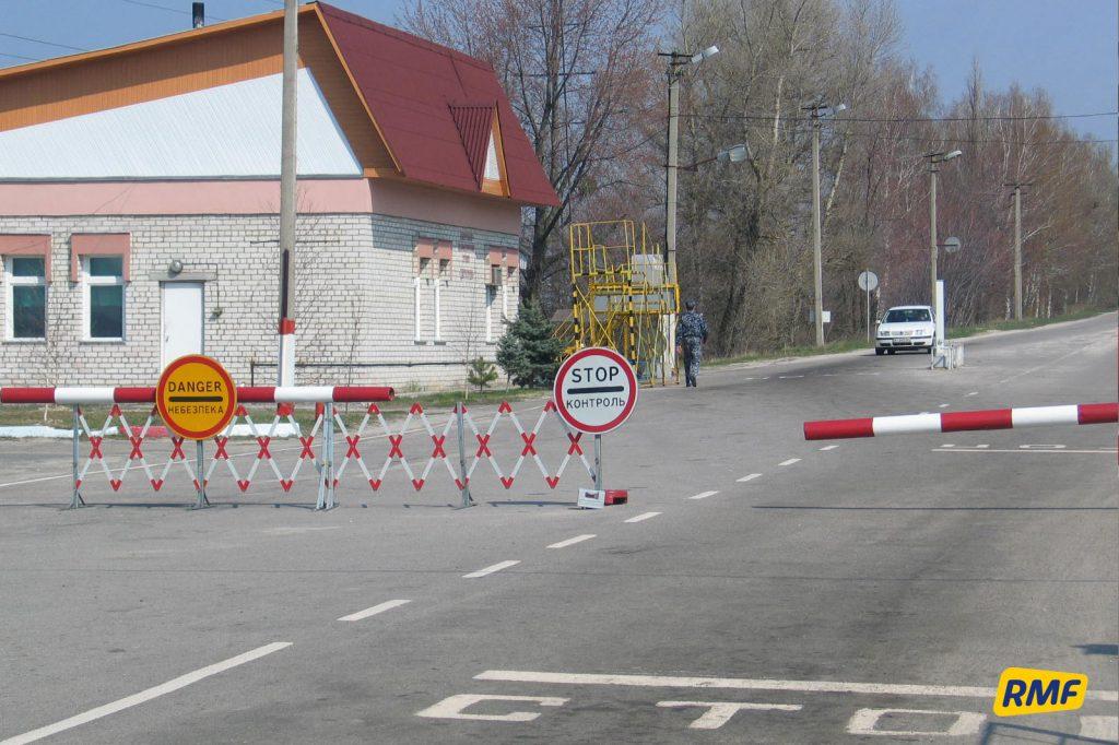 Punkt kontrolno-paszportowy Dytiatki. Fot. Krzysztof Zasada / RMF FM