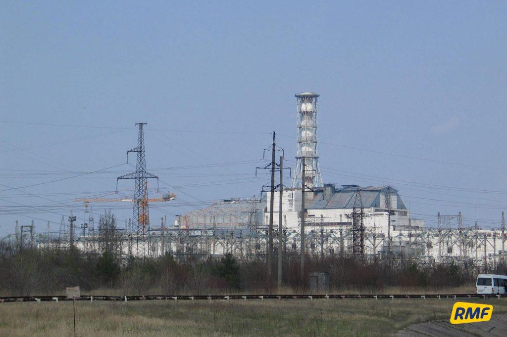 Widok na elektrownię jądrową. Fot. Krzysztof Zasada / RMF FM