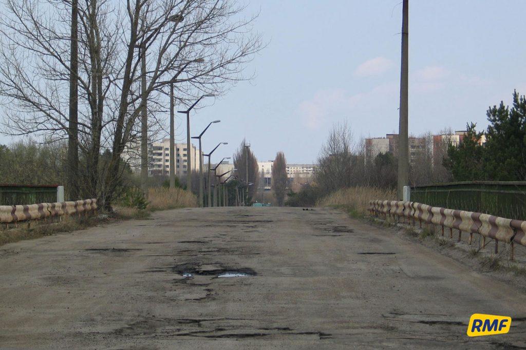 """""""Most śmierci"""" na drodze do Prypeci. Fot. Krzysztof Zasada / RMF FM"""