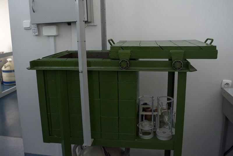 Laboratorium spektroskopii gamma. Fot. Karolina Prusińska