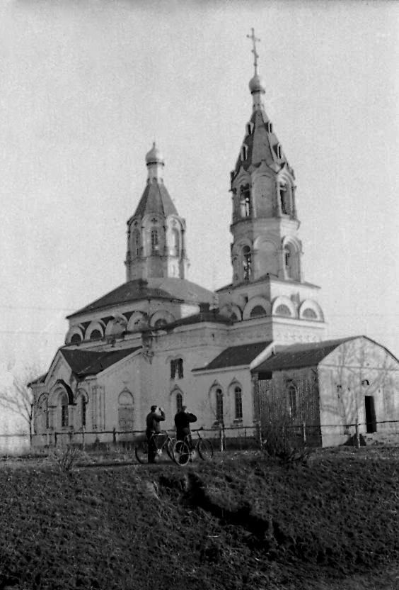 Cerkiew św. Eliasza – 1954 rok. Zdjęcie z archiwum cerkwi w Czarnobylu.