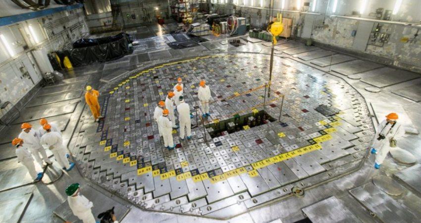 Hala reaktora w Ignalińskiej Elektrowni Jądrowej. Fot. chernobylwel.com