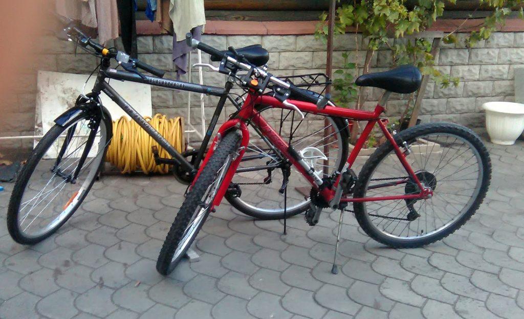 Rowery przed liftingiem. Fot. Staszek (stalker)