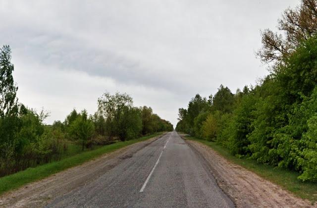 I tak przez 10 kilometrów... Fot. Staszek (stalker)