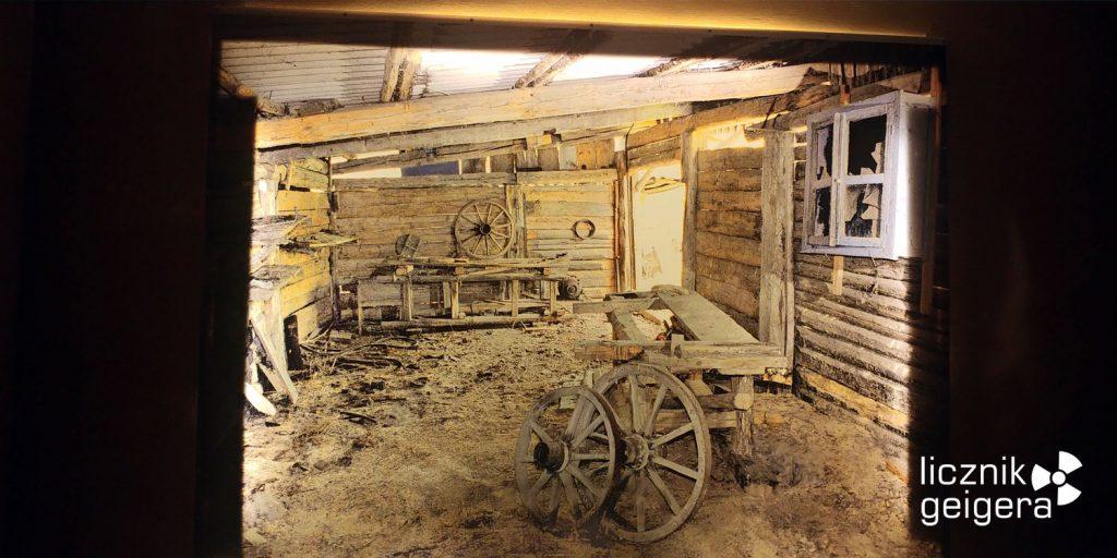 W pomieszczeniu stolarza - fragment ekspozycji. Fot. Tomasz Róg