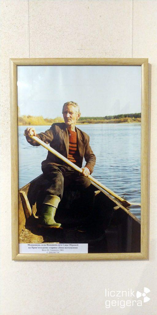 Zdjęcie Sawy Obrażeja - ostatniego mieszkańca wsi Nowe Szepielicze. Fot. Tomasz Róg