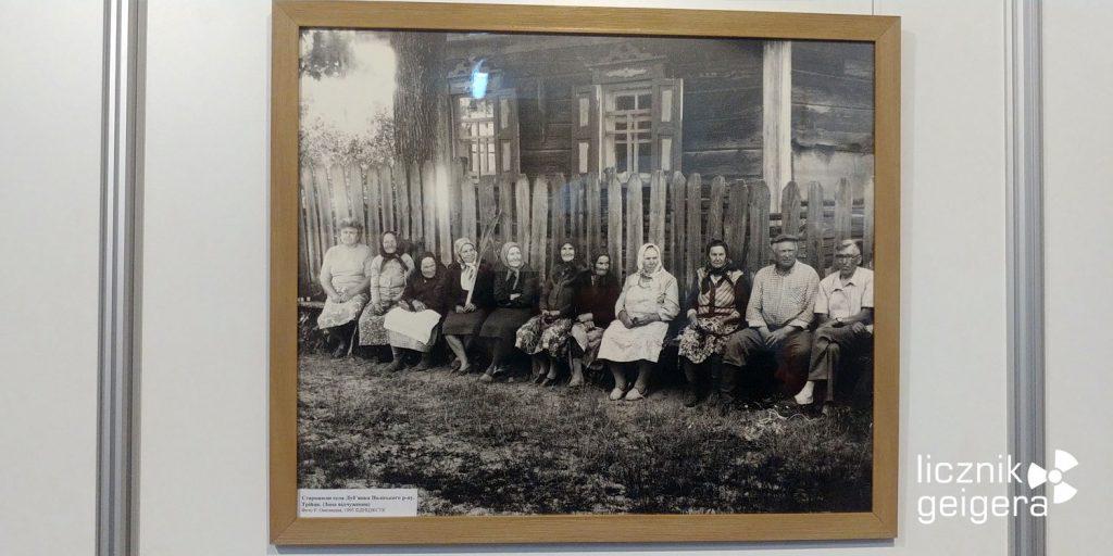 Zdjęcie mieszkańców wsi Łubianka. Fot. Tomasz Róg