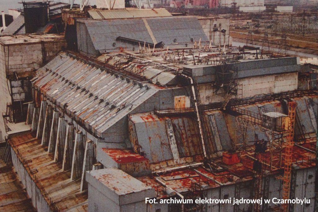 Fot. archiwum elektrowni jądrowej w Czarnobylu