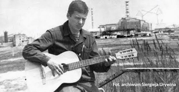 Autor tekstu i muzyki w 1987 r. Fot. Archiwum Siergieja Urywina