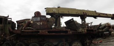 IMR-2 na składowisku Burakówka. Fot. Marek Rabiński