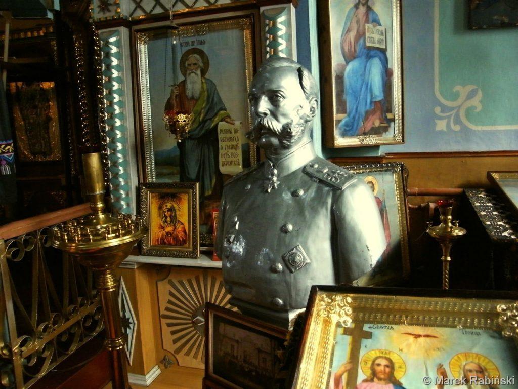 Popiersie cara Aleksandra II. Fot. Marek Rabiński
