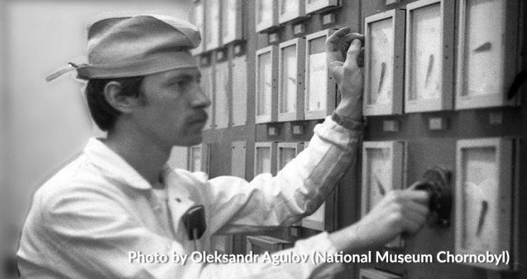 Aleksandr Agułow. Fot. z archiwum prywatnego autora (National Museum Chornobyl)