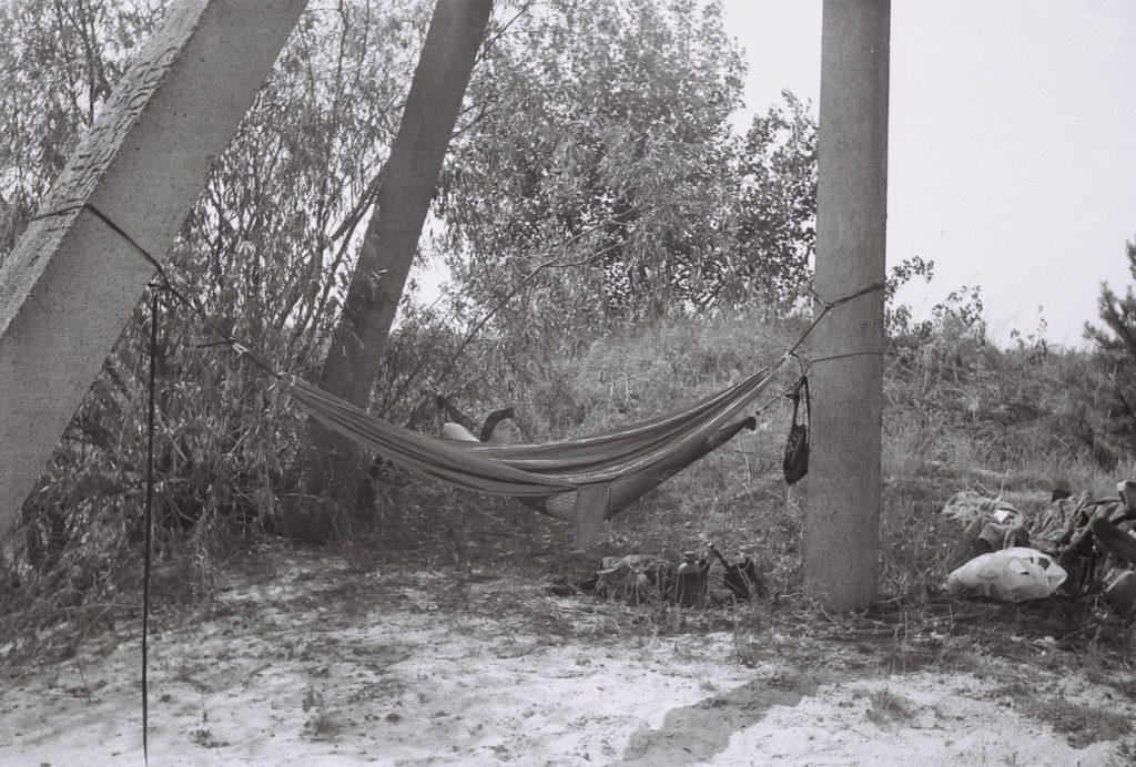 Zrobione na czarno-białym filmie aparatem Smiena 8M. Fot. Staszek (stalker)